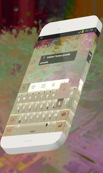 Strings of grass Keypad Skin poster