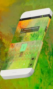 Stunning glade Keypad Skin poster