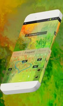Stunning glade Keypad Skin apk screenshot
