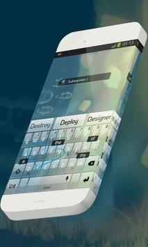 Submarines Keypad Skin apk screenshot