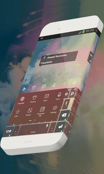 Sweet fantasies Keypad Skin apk screenshot