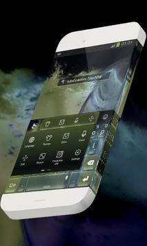 Sand castles Keypad Skin screenshot 1