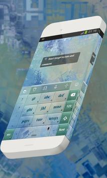 Scattered houses Keypad Skin apk screenshot