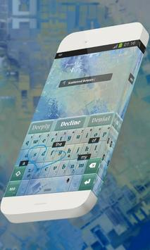 Scattered houses Keypad Skin screenshot 2
