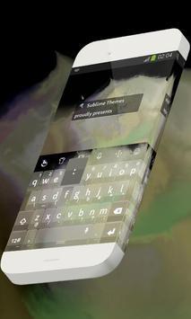 Shimmery fog Keypad Skin poster