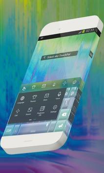 Silent sky Keypad Skin screenshot 1