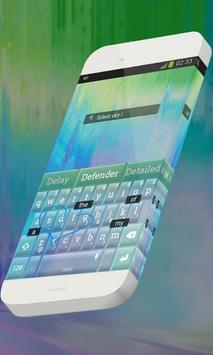 Silent sky Keypad Skin screenshot 2