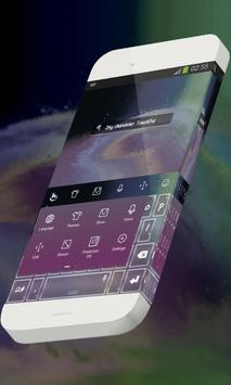 Sky chandelier Keypad Skin apk screenshot