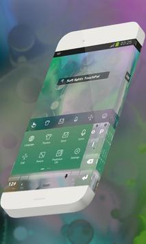 Soft lights Keypad Skin apk screenshot