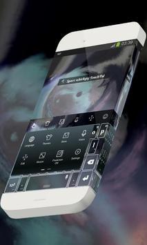 Space whirligig Keypad Skin apk screenshot