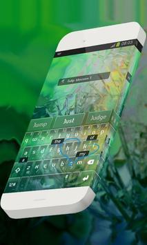Tulip blossom Keypad Skin apk screenshot