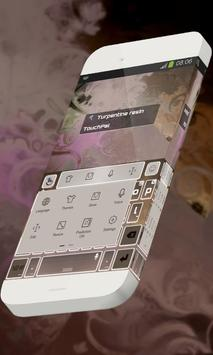 Turpentine resin Keypad Skin apk screenshot