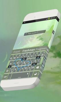 Twin moons Keypad Skin apk screenshot