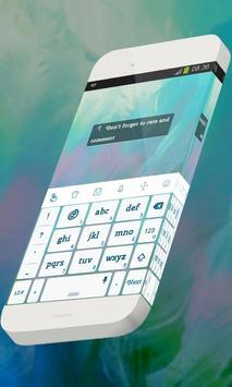 Ultraviolet Cuckoo Keypad Skin apk screenshot