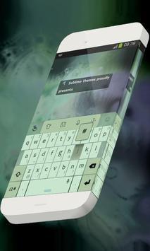 Umbrella Hologram Keypad Skin poster