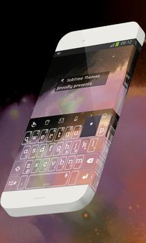 Universe calm Keypad Skin poster