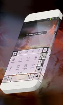 Universe portal Keypad Skin apk screenshot