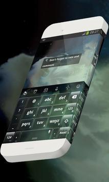 Unreal scenery Keypad Skin apk screenshot