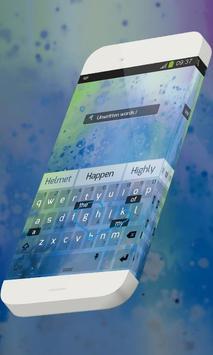 Unwritten words Keypad Skin apk screenshot