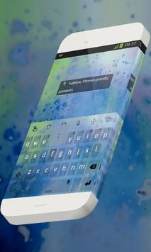 Unwritten words Keypad Skin poster