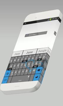 Unwritten Keypad Skin apk screenshot