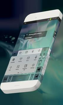 Vulnerable petals Keypad Skin screenshot 1