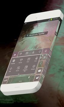 Vibrant echo Keypad Skin apk screenshot