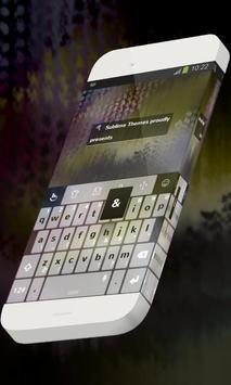 Vine pattern Keypad Skin poster