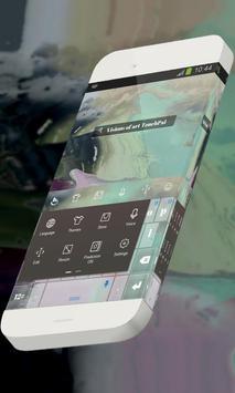 Visions of art Keypad Skin apk screenshot