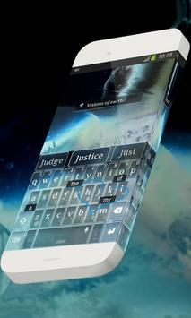 Visions of earth Keypad Skin apk screenshot