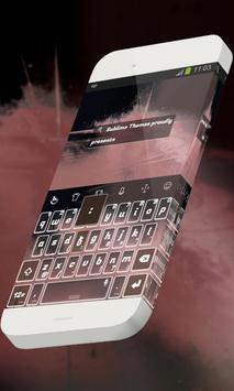 Volcanic lake Keypad Skin apk screenshot