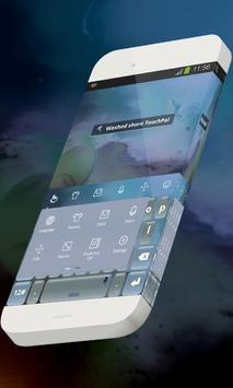 Washed shore Keypad Skin screenshot 1