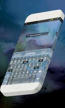Washed shore Keypad Skin screenshot 2