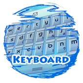 Water particle Keypad Skin icon