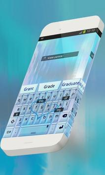 Water particle Keypad Skin screenshot 2