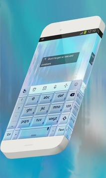 Water particle Keypad Skin screenshot 3