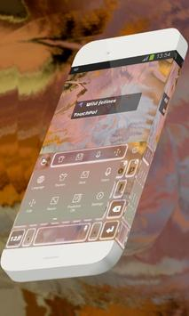 Wild felines Keypad Skin screenshot 9