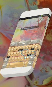 Wonder Fruit Keypad Skin apk screenshot