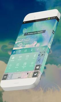 Wondrous nature Keypad Skin apk screenshot