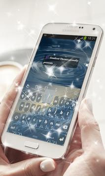 Andromeda Keyboard Theme poster