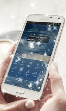 Andromeda Keyboard Theme apk screenshot
