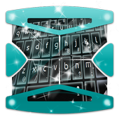 Black Blocks Keyboard Theme icon
