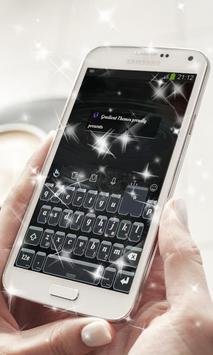 Black Canvas Keyboard Theme poster