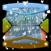 Blue Dot Keyboard Theme icon