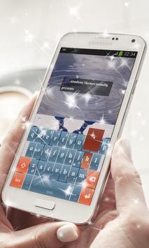 Blue Dot Keyboard Theme poster