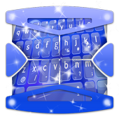 Blue simplicity Keyboard Theme icon