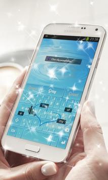 Blue Sky Keyboard Theme apk screenshot