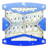Bright White Keyboard Theme icon