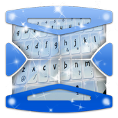 Clear Blue Sky Keyboard Theme icon
