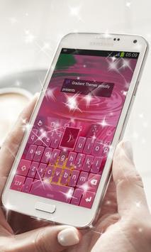 Delicate Petals Keyboard Theme screenshot 4